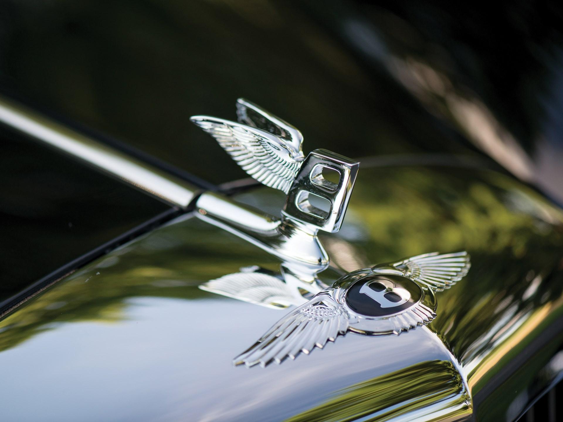 Badges & Mascots Automobilia Precise Bentley Bonnet Badge Genuine Vintage