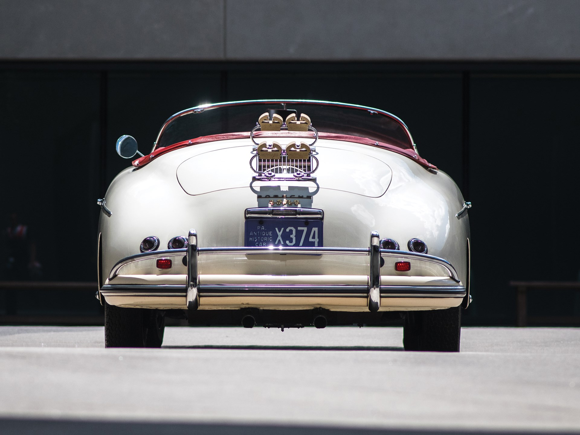 1956 Porsche 356 A 'Super' Speedster by Reutter