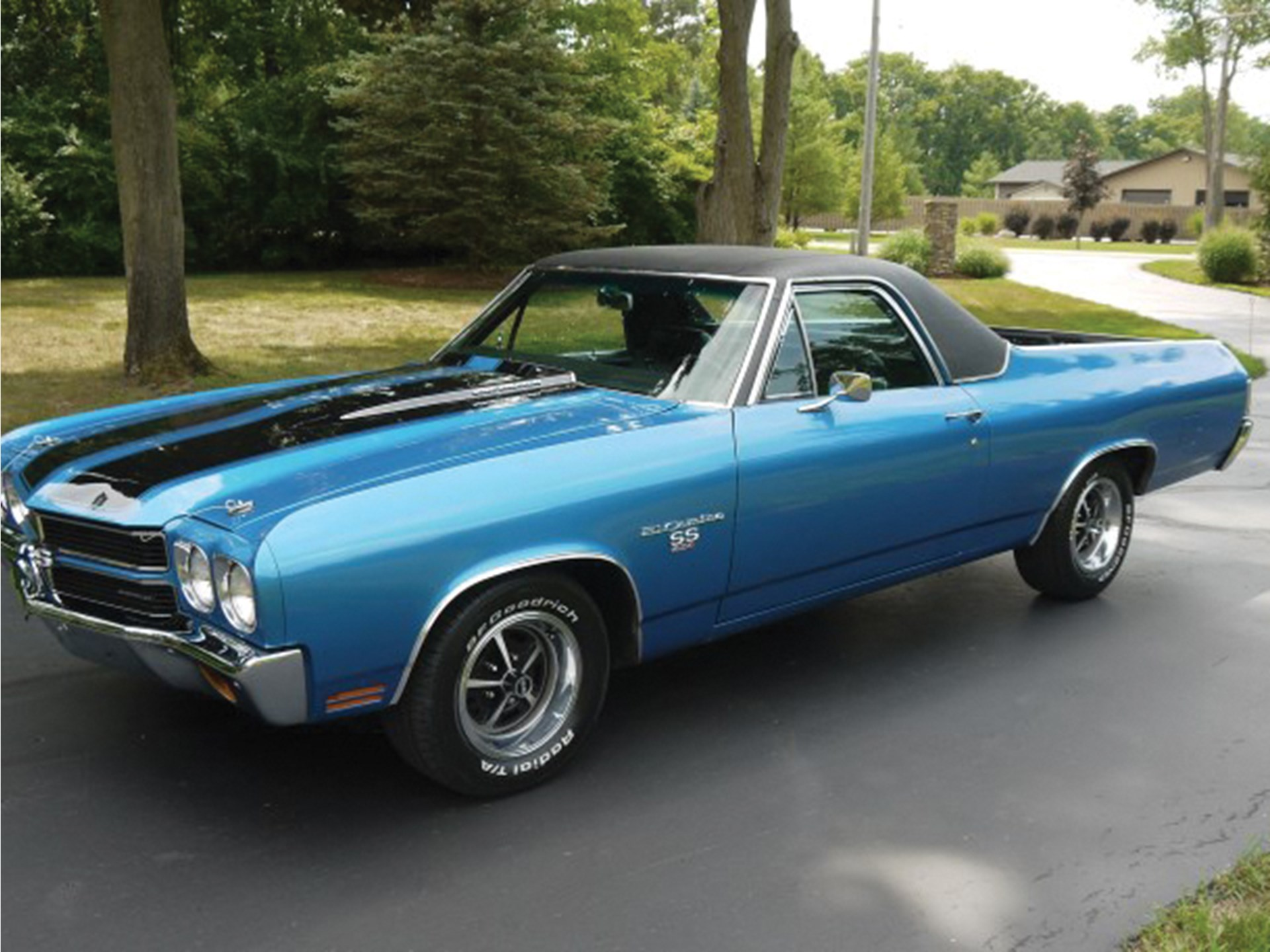rm sotheby 39 s 1970 chevrolet el camino ss 454 auburn fall 2018. Black Bedroom Furniture Sets. Home Design Ideas