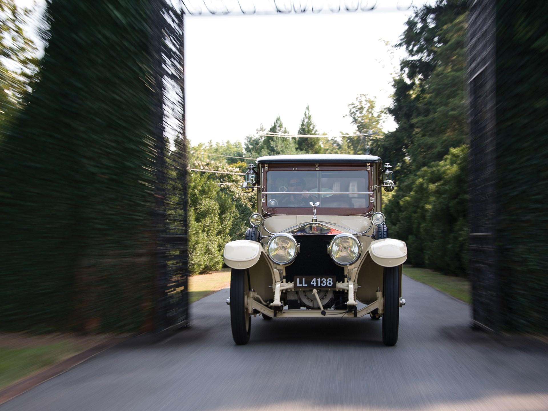 1914 Rolls-Royce 40/50 HP Silver Ghost Landaulette by Barker