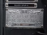 1992 Rolls-Royce Silver Spur II Touring Limousine  - $