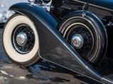 1933 Cadillac V-12 Town Sedan  - $