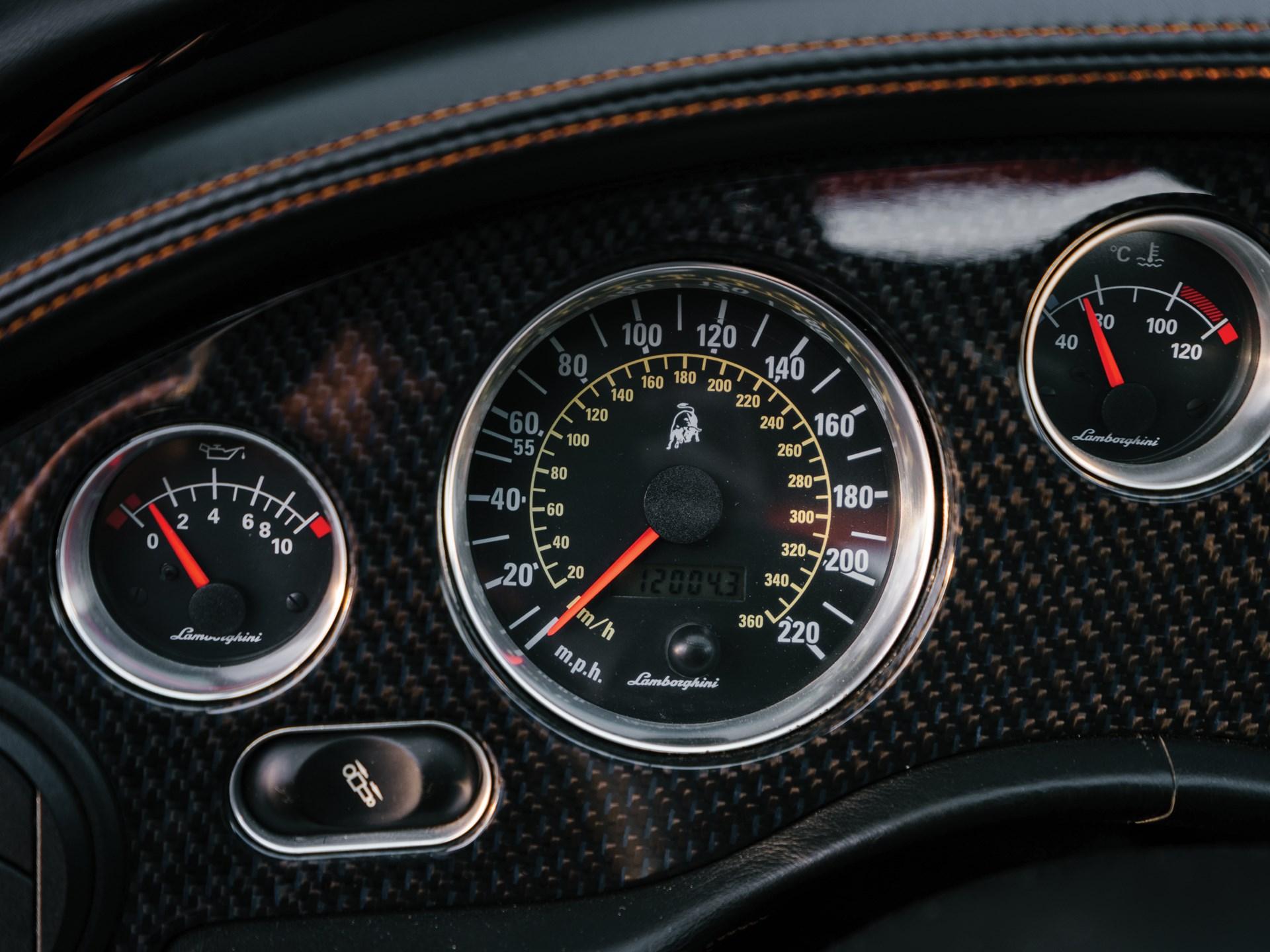2001 Lamborghini Diablo VT 6.0