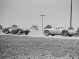 1960 Porsche 718 RS 60 Werks  - $The RS 60 leads the Ferrari 250 TRI 61 of Mairesse, Ginter, and von Trips at the 1961 12 Hours of Sebring.
