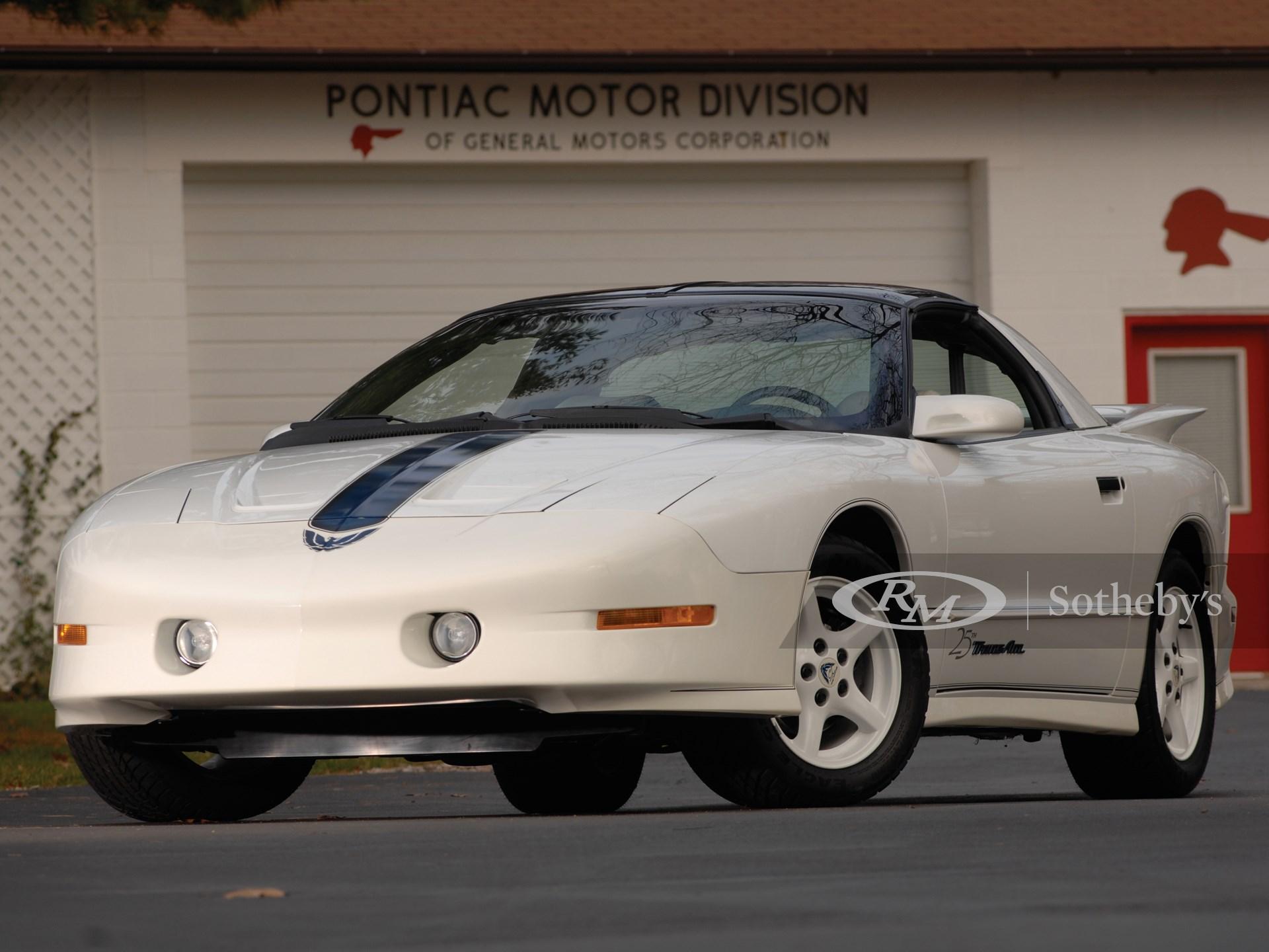 1994 Pontiac Trans Am 25th Anniversary Edition