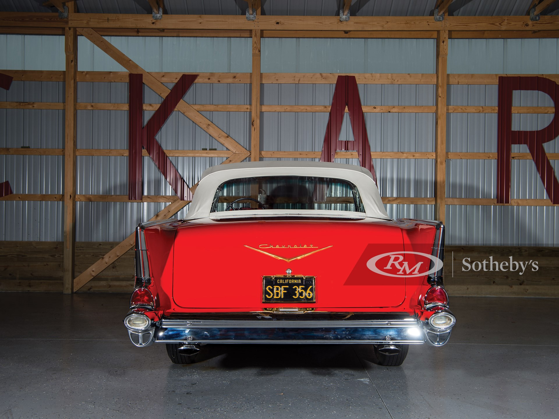1957 Chevrolet Bel Air 'Fuel-Injected' Convertible  -