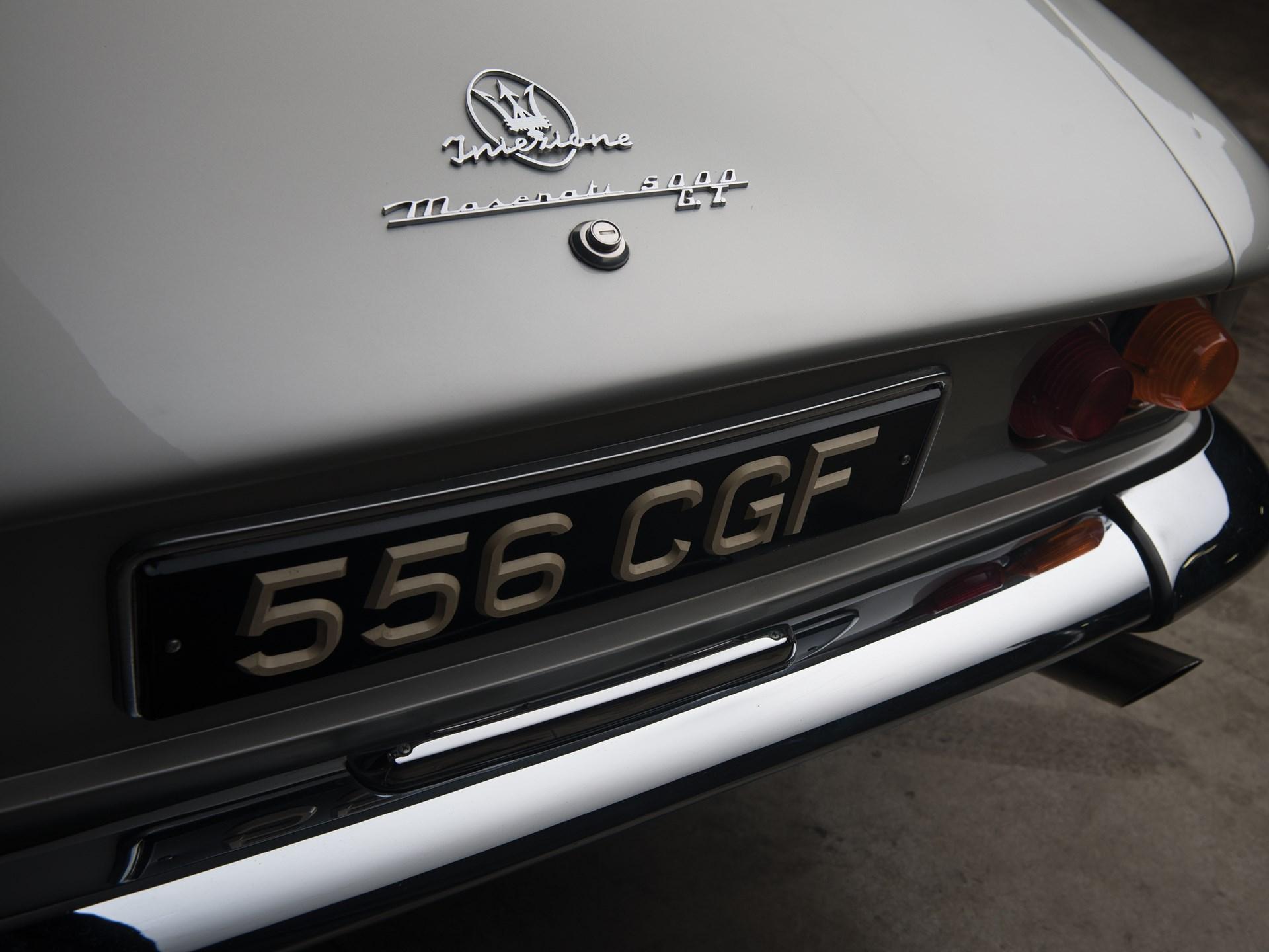 1964 Maserati 5000 GT Coupe by Michelotti