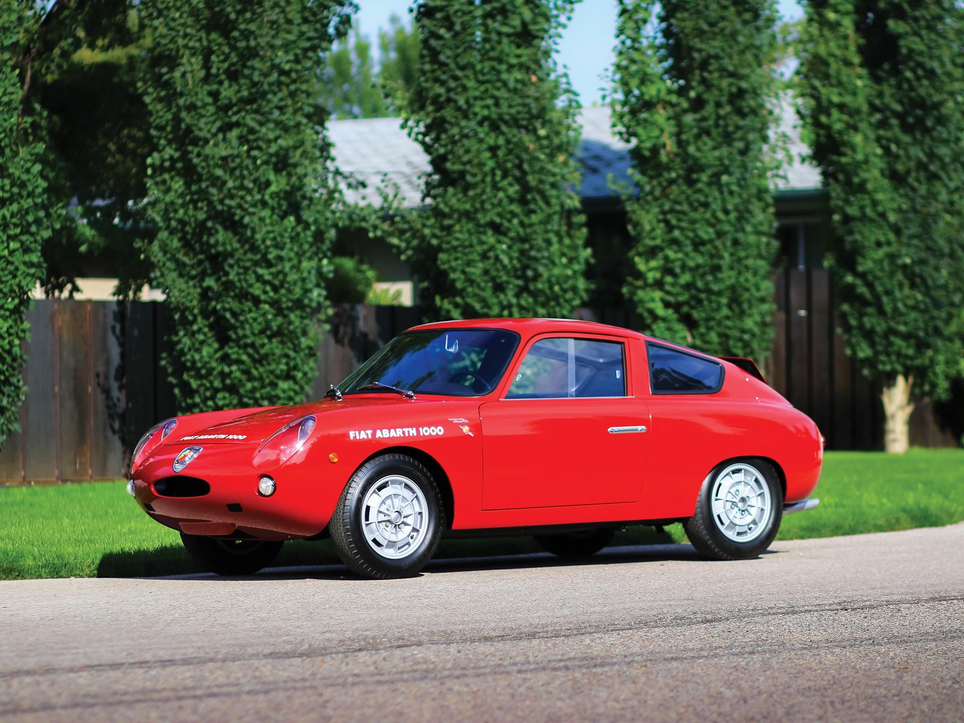 RM Sotheby's - 1961 Fiat-Abarth 1000 GT Bialbero | Monterey 2016