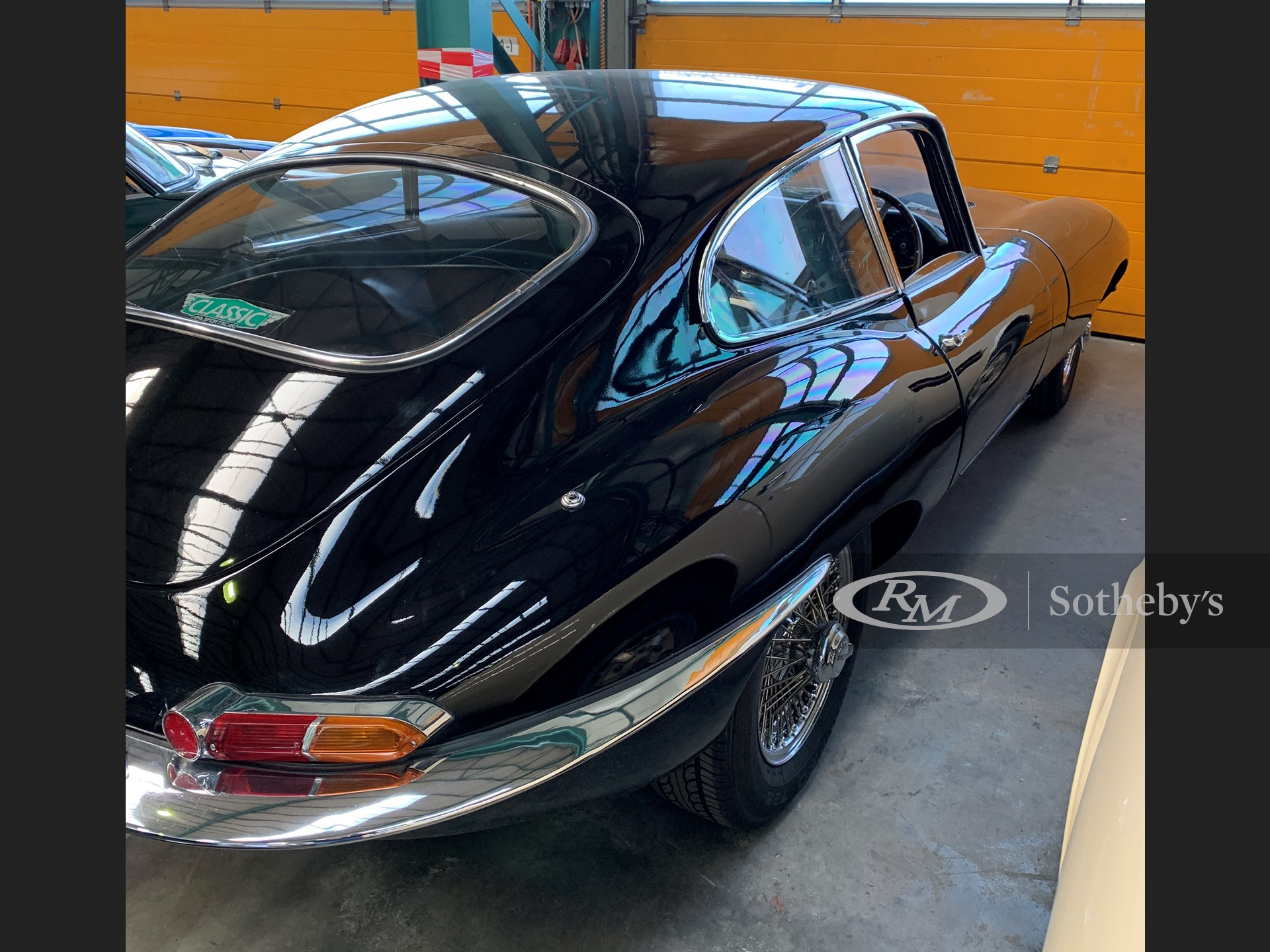 1963 Jaguar E-Type Series 1 3.8-Litre Fixed Head Coupé  -
