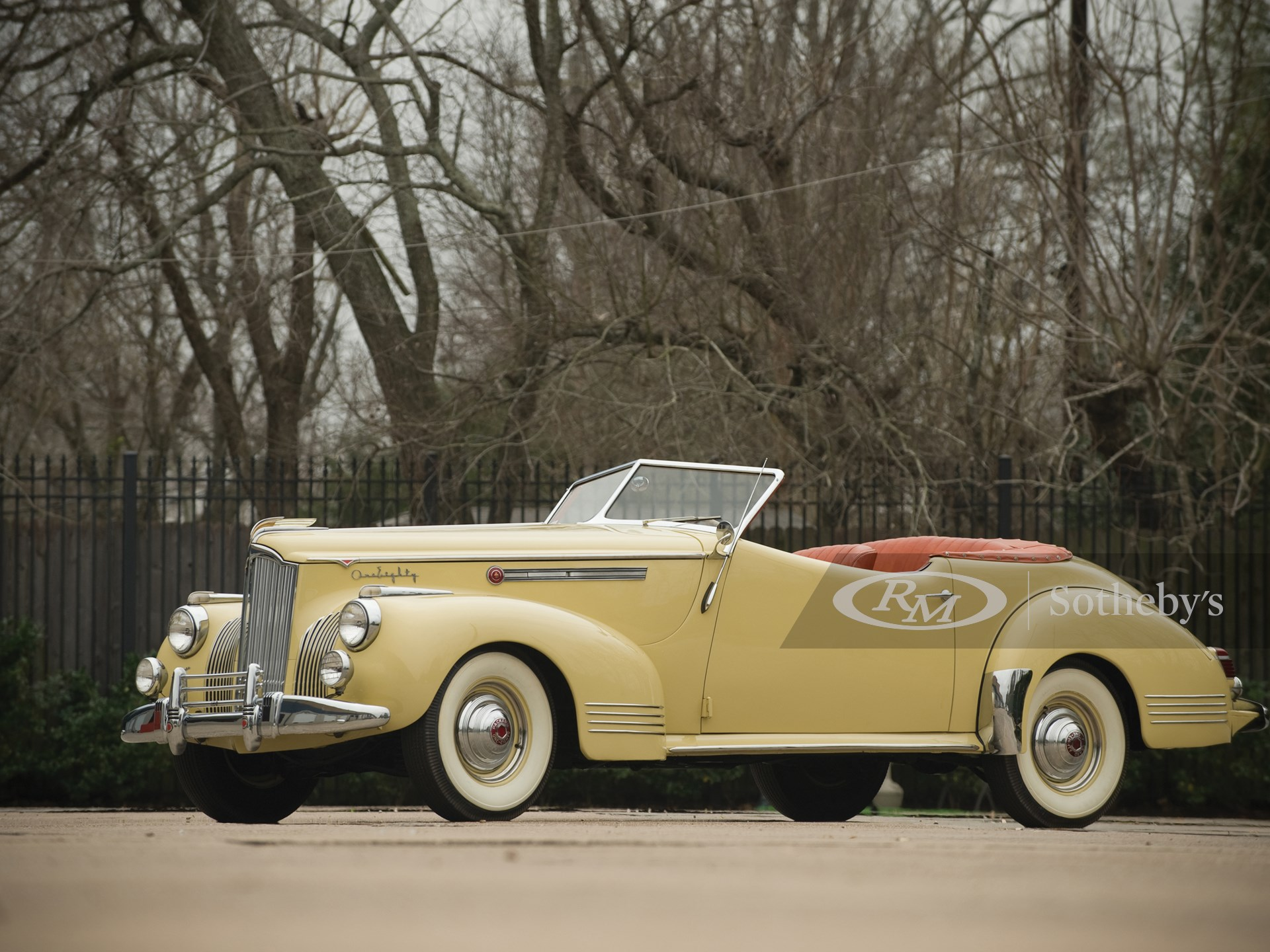 1941 Packard Super Eight One Eighty Convertible Coupe by Darrin