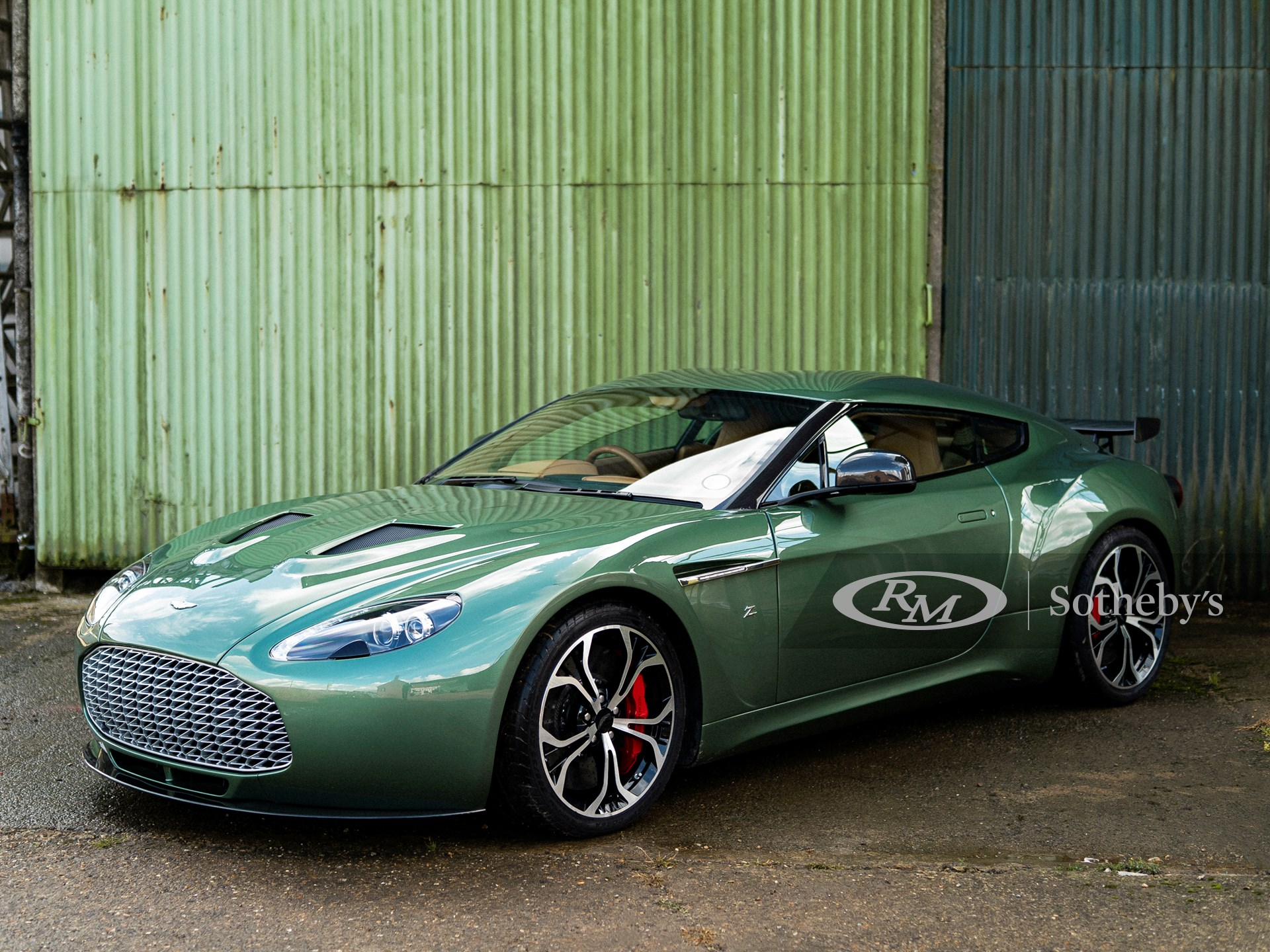 2012 Aston Martin V12 Zagato Prototype London Rm Online Only