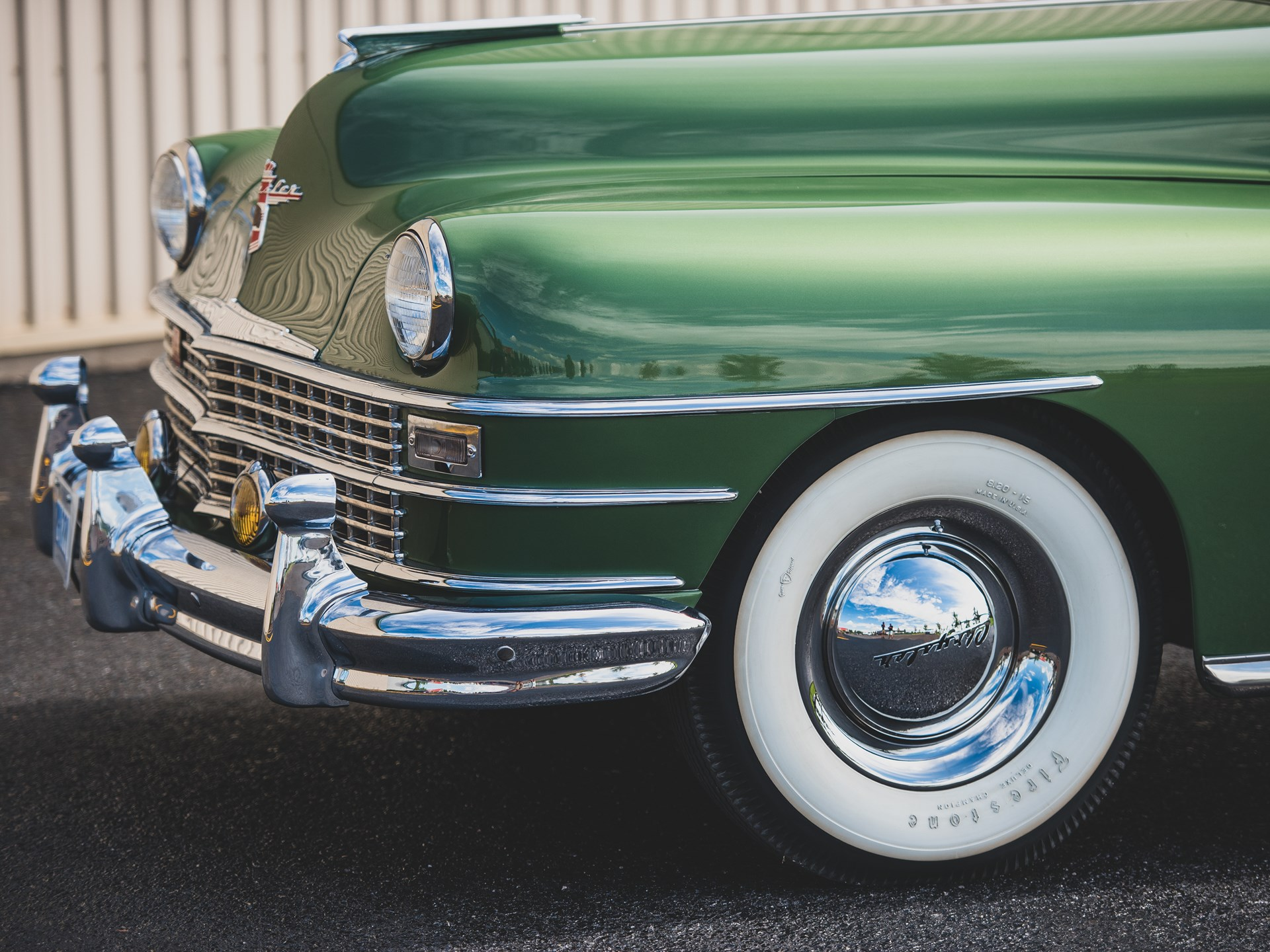 Rm Sothebys 1949 Chrysler Town And Country Convertible Hershey 2018