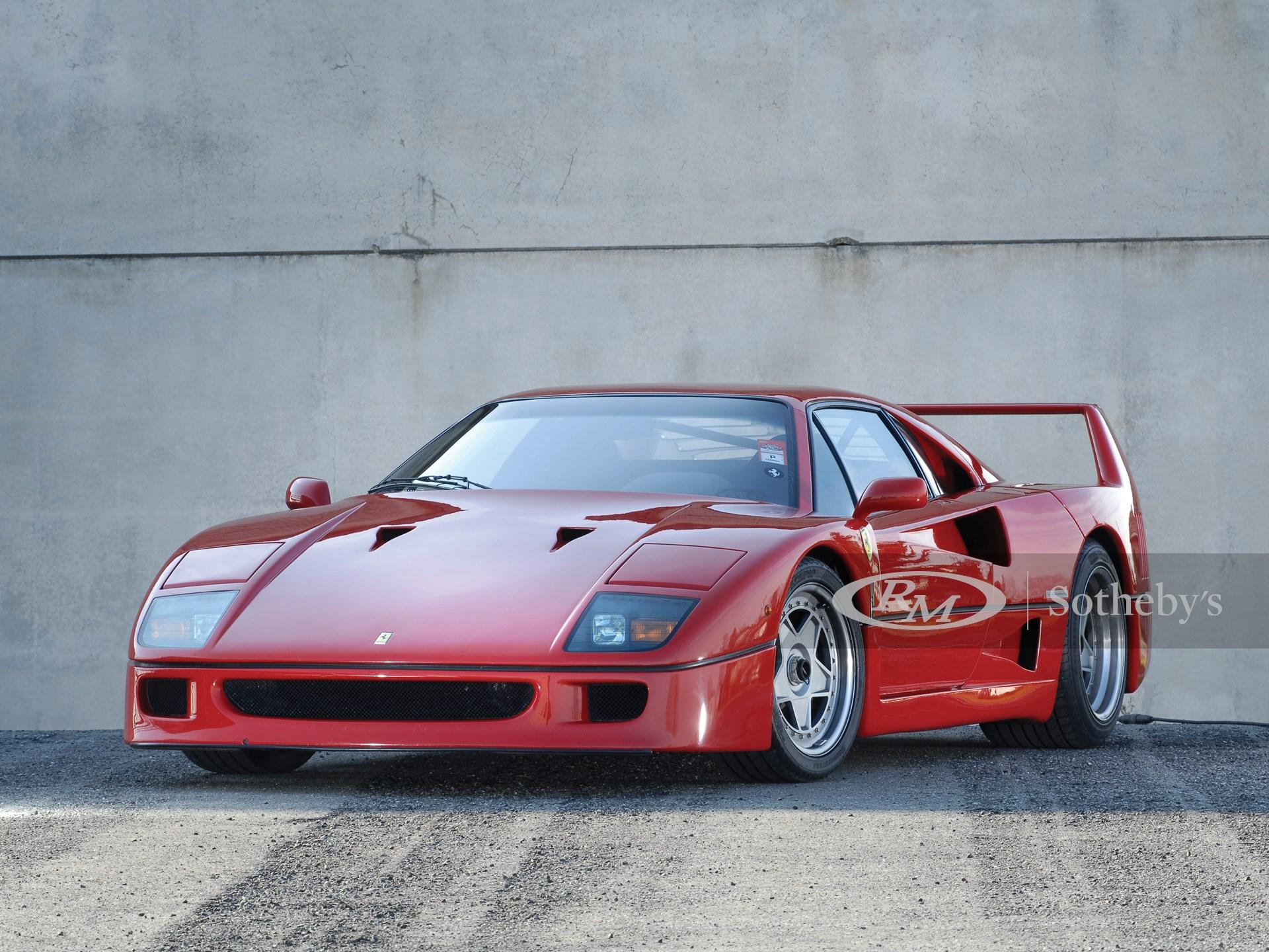 1989 Ferrari F40 Valeo | Ferrari - Leggenda e Passione ...