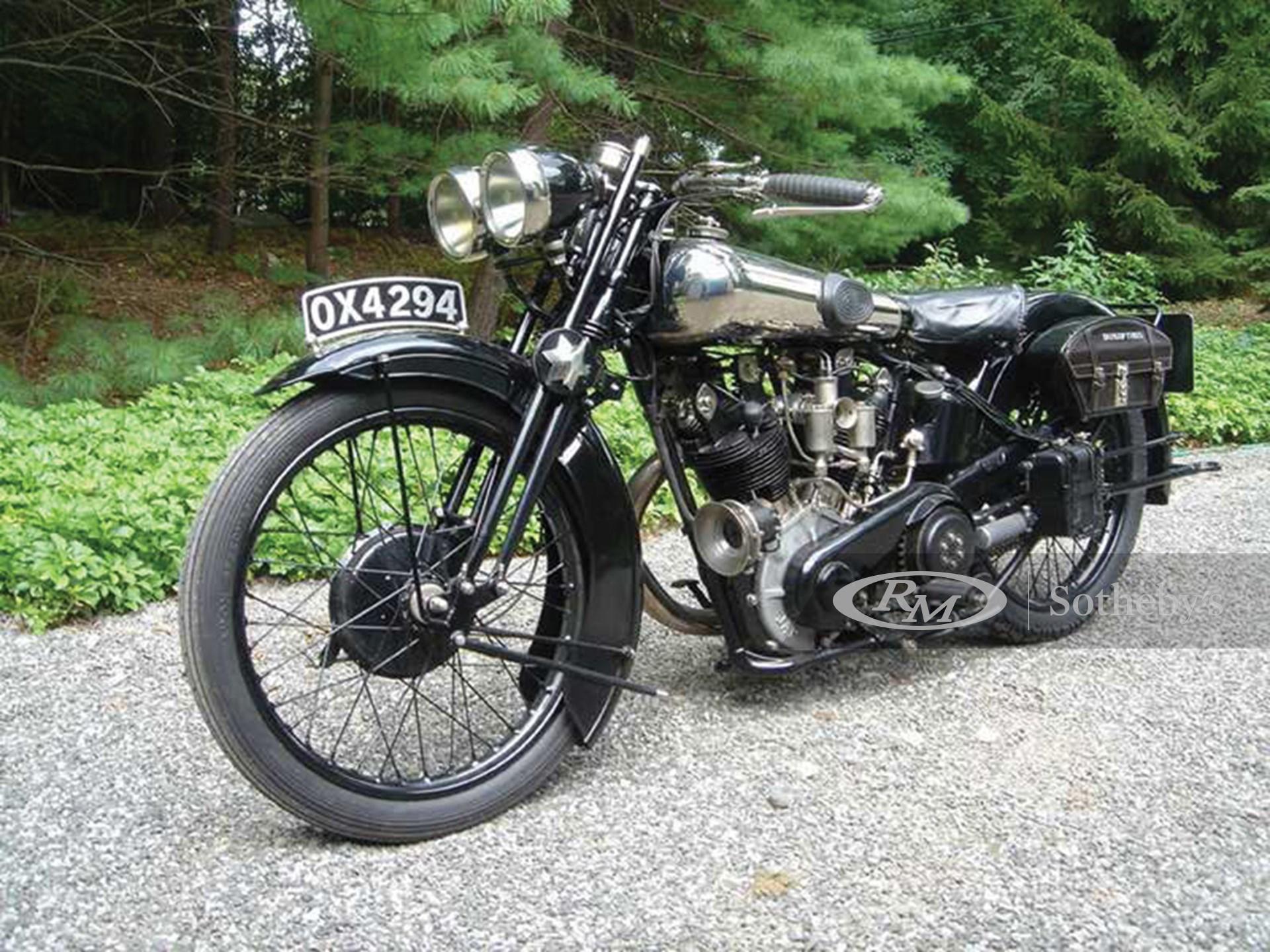 1928 Brough Superior SS 100