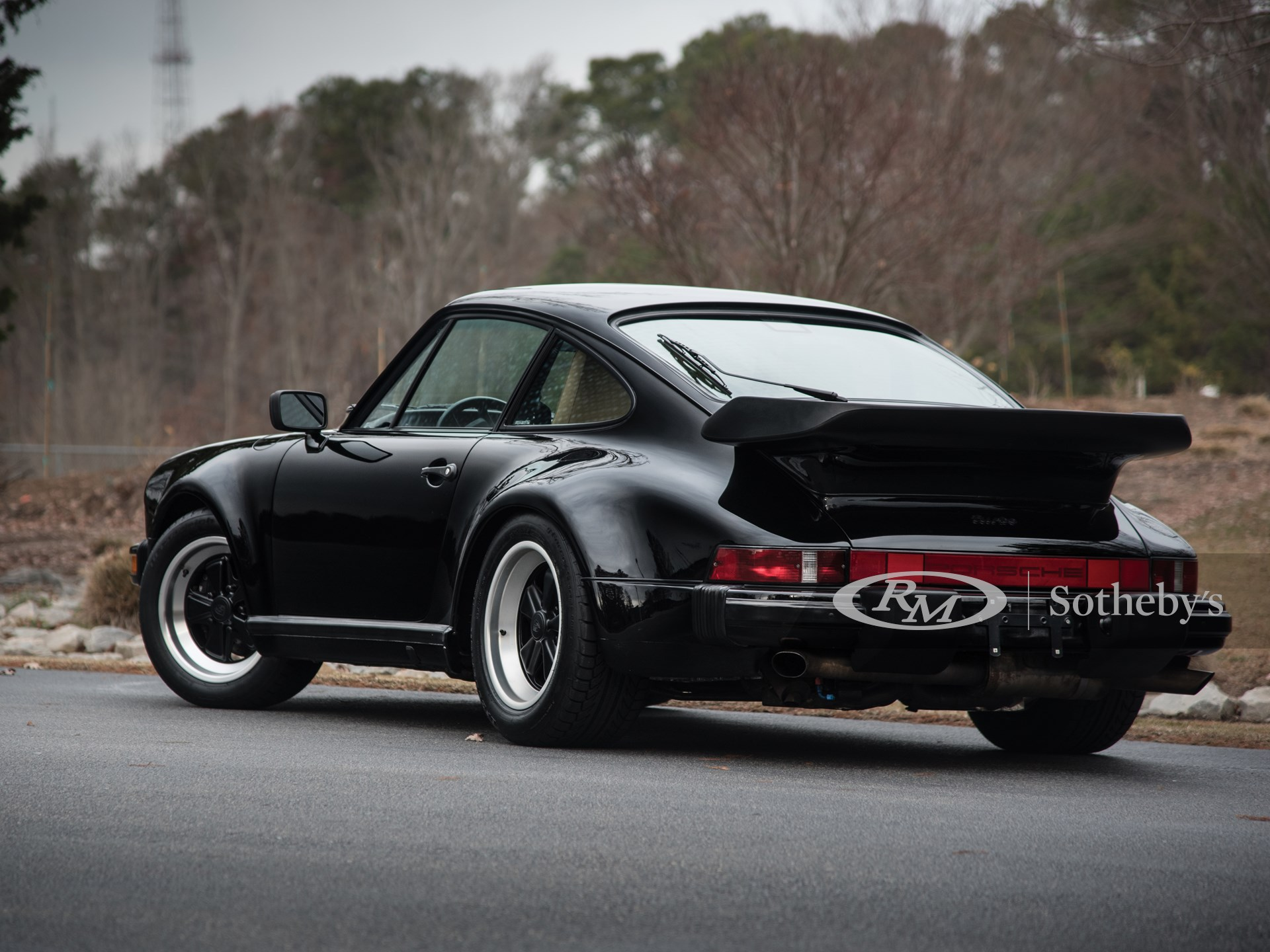 1989 Porsche 911 Turbo Coupe  -