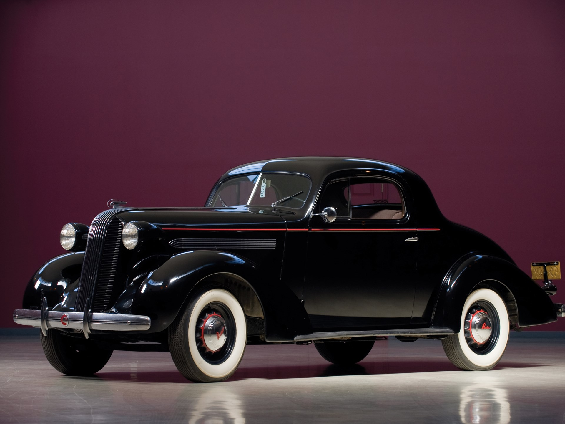Rm Sotheby S 1936 Pontiac Master Six Deluxe Coupe Vintage Motor