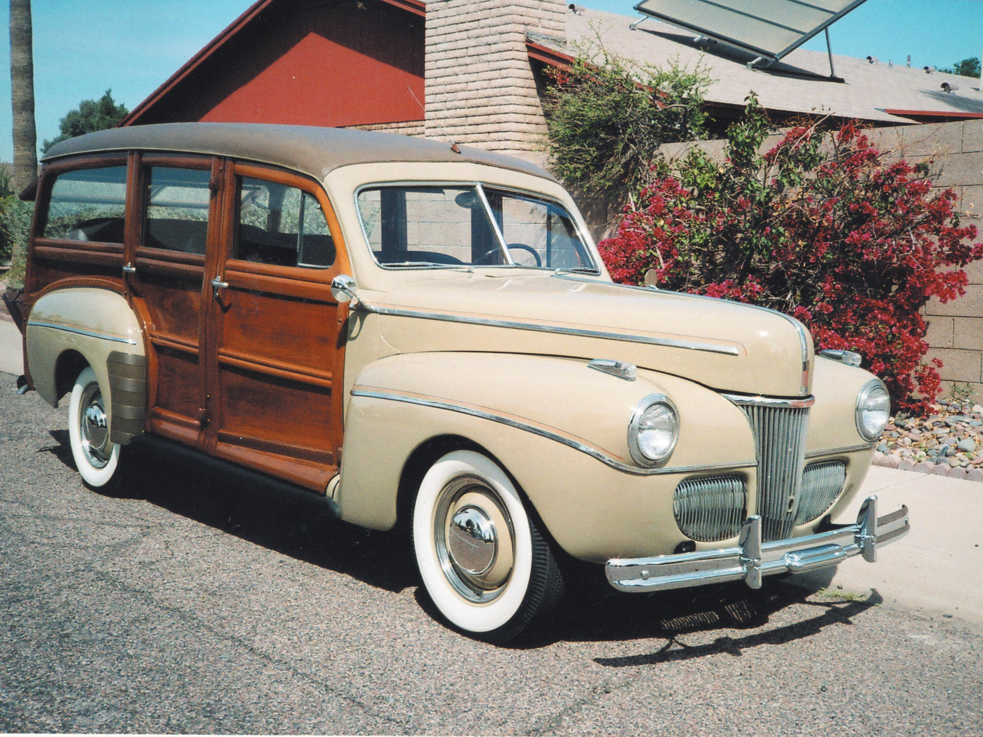 Rm Sothebys 1941 Ford Deluxe Station Wagon Monterey Sports