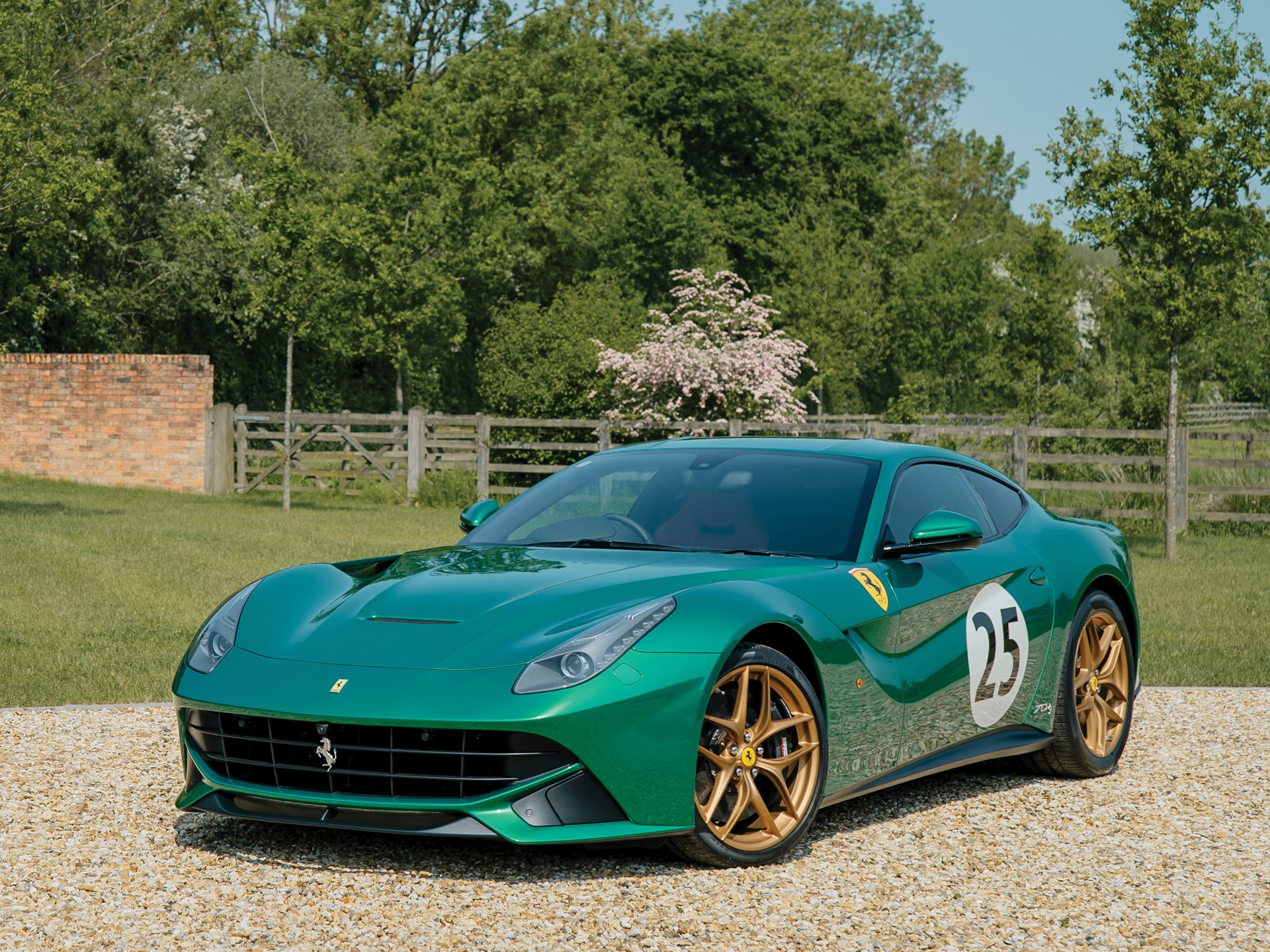 2017 Ferrari F12 Berlinetta 70th Anniversary