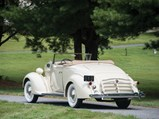 1936 Packard 120-B Convertible Coupe  - $