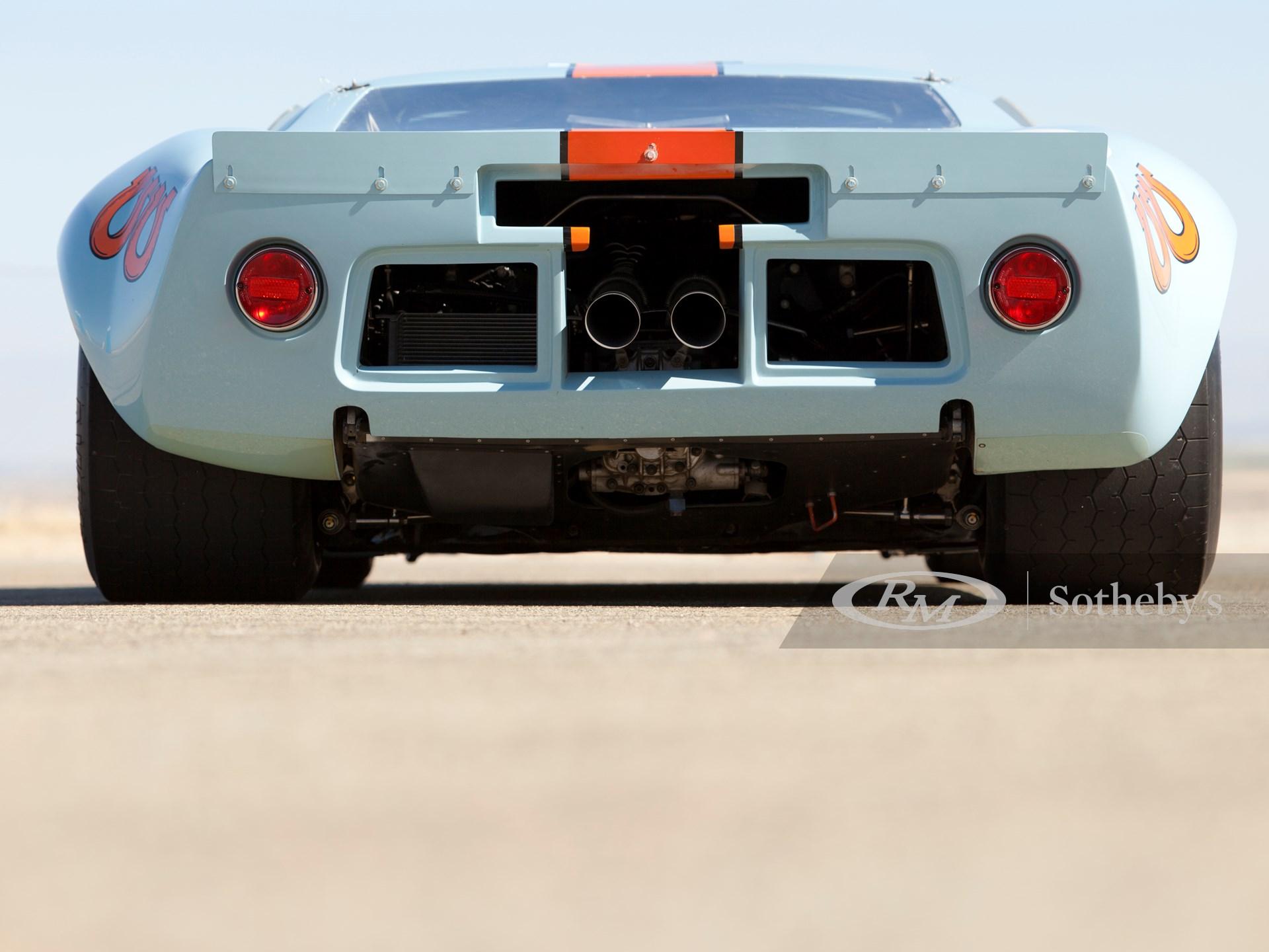 1968 Ford GT40 Gulf/Mirage Lightweight Racing Car  -