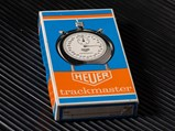 Champion Spark Plugs Edition Stopwatch by Heuer Trackmaster, ca. Early-1970s - $