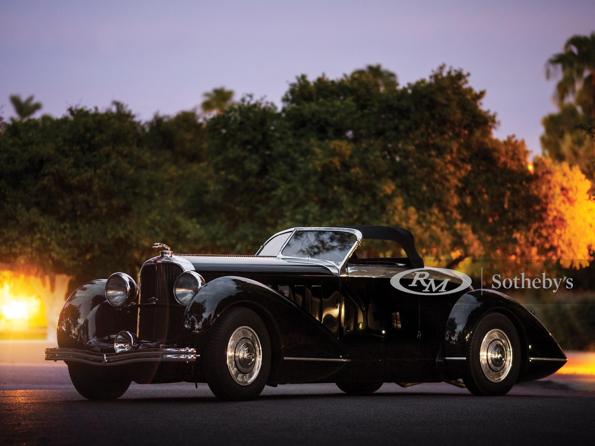 1932 Lincoln Model KB Boattail Speedster  -