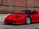 1995 Ferrari F50  - $