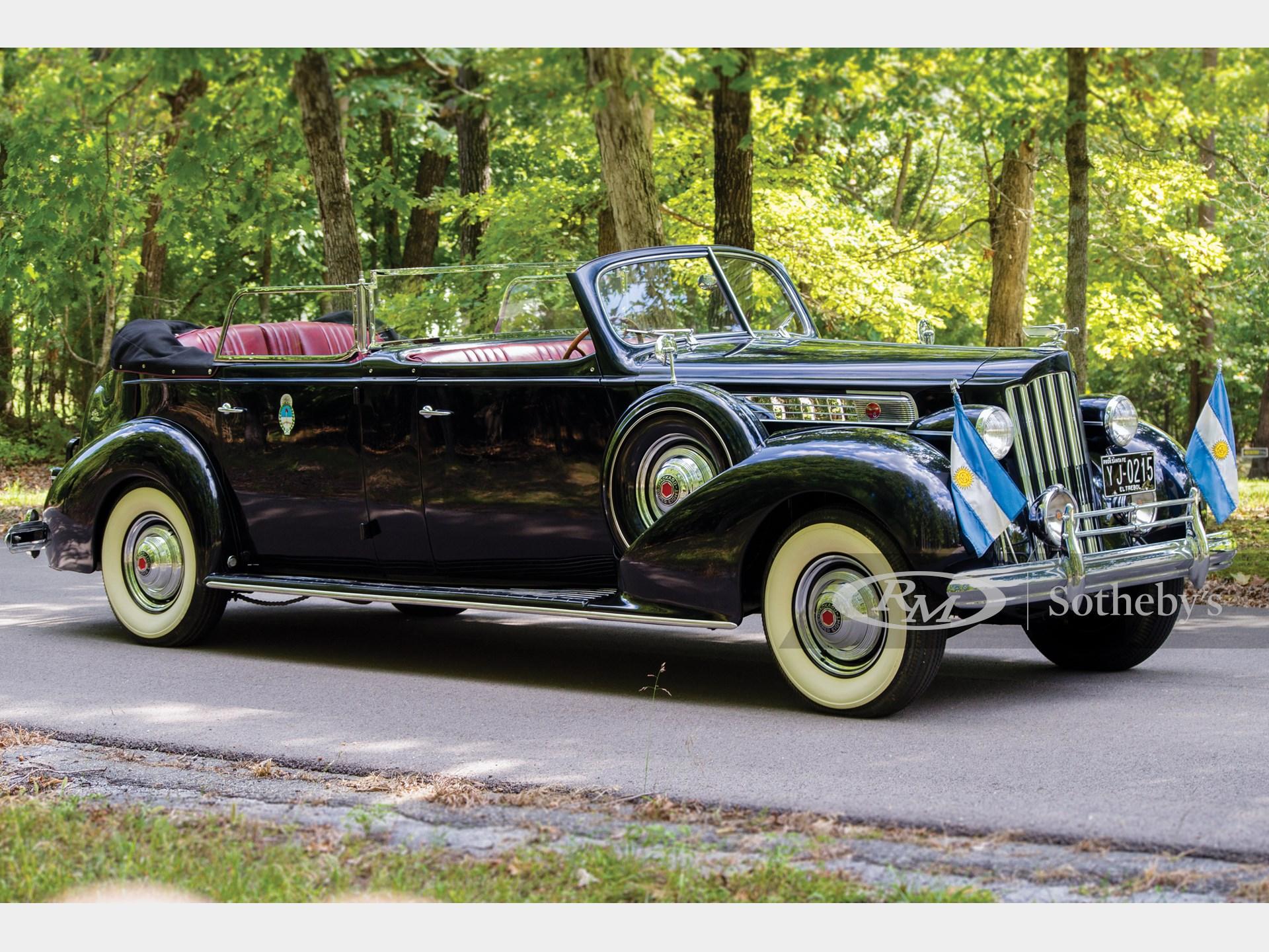 1939 Packard Super Eight Phaeton by Derham