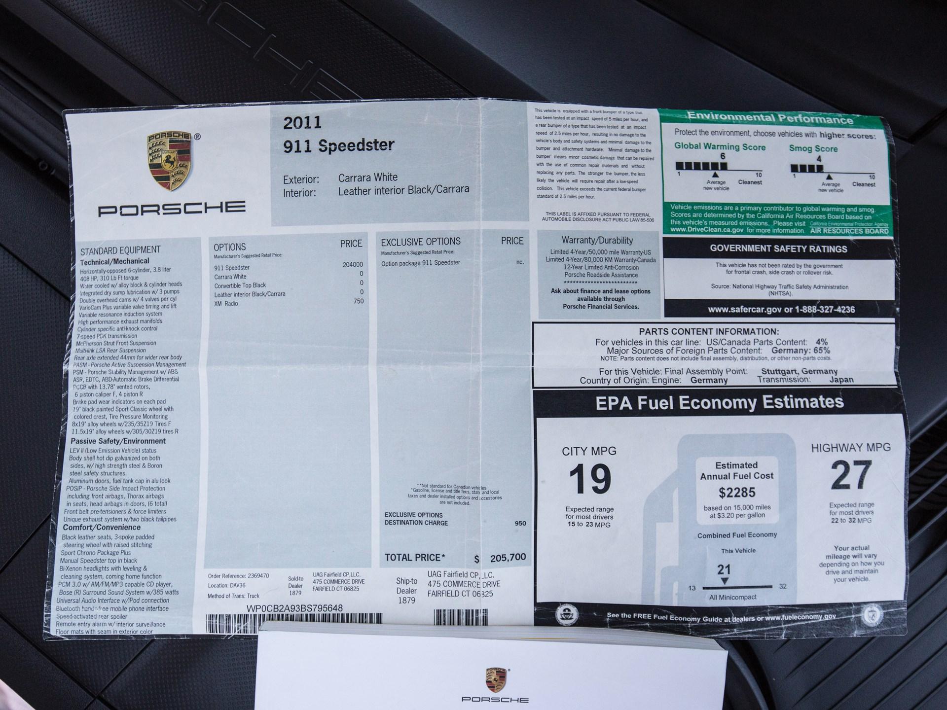 RM Sotheby's - 2011 Porsche 911 Speedster | Amelia Island 2018