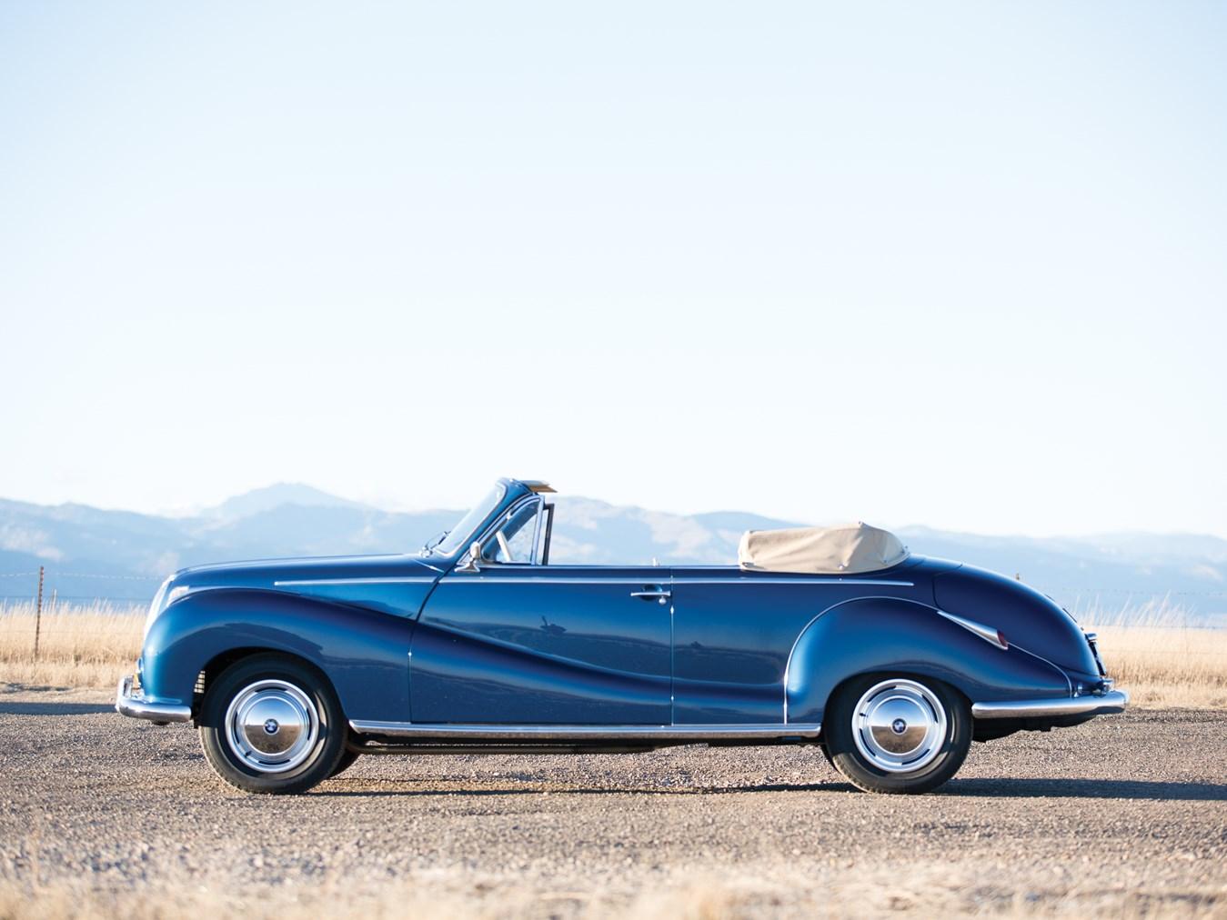 RM Sotheby\'s - 1956 BMW 502 Cabriolet by Baur | Amelia Island 2015