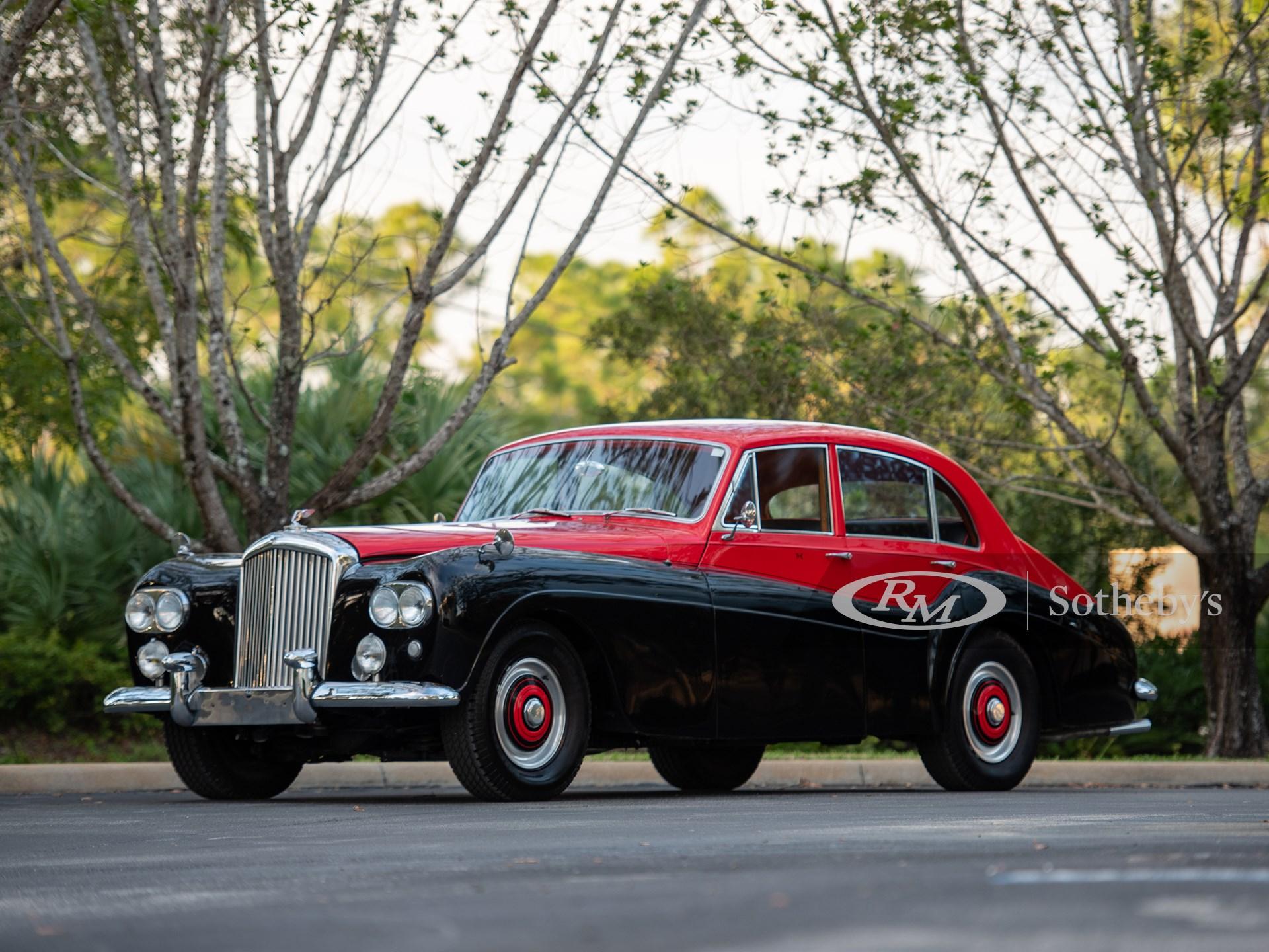 1954 Bentley R-Type Saloon by Freestone & Webb