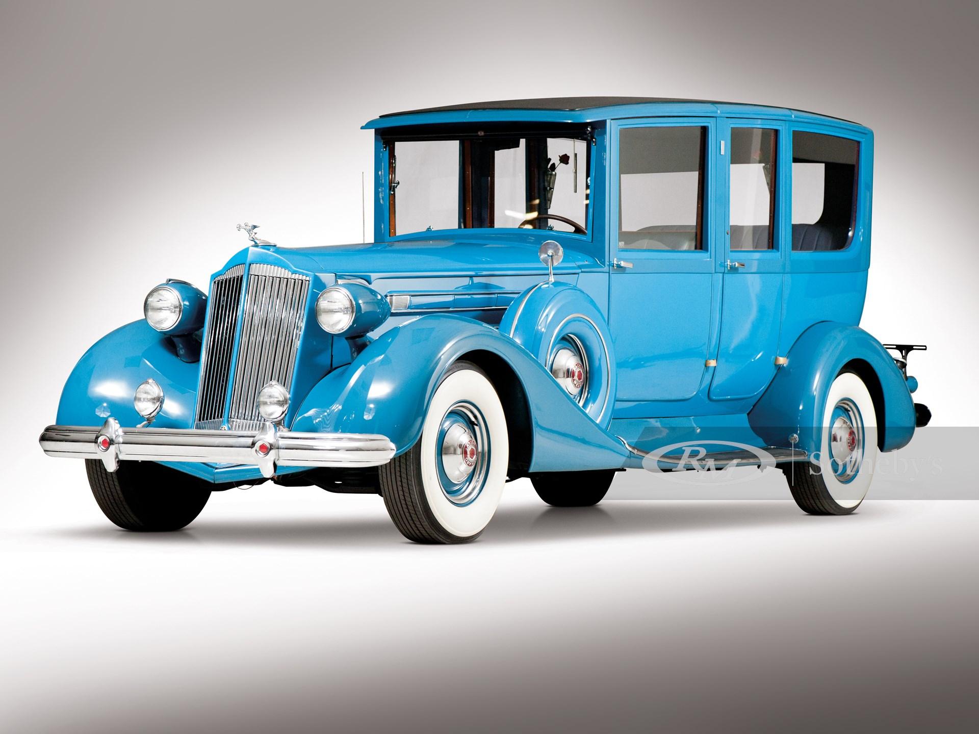 1937 Packard Twelve Seven-Passenger Limousine