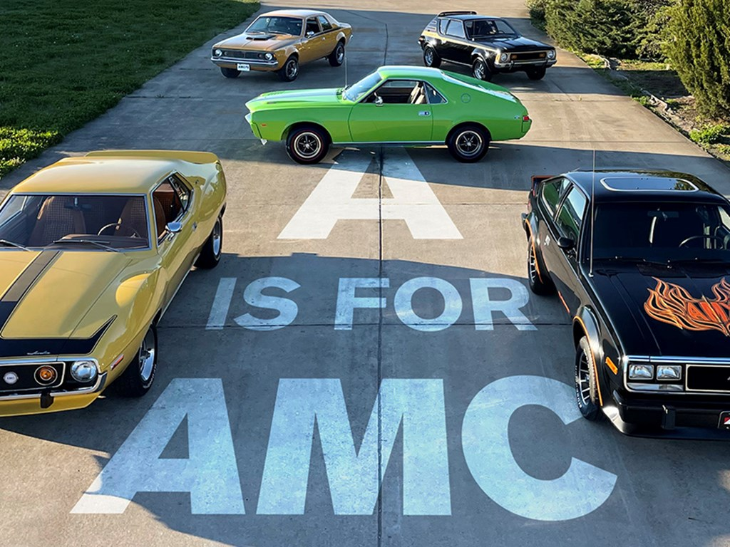 Collection of AMC Cars offered at RM Sothebys Online Only Open Roads April Auction 2021