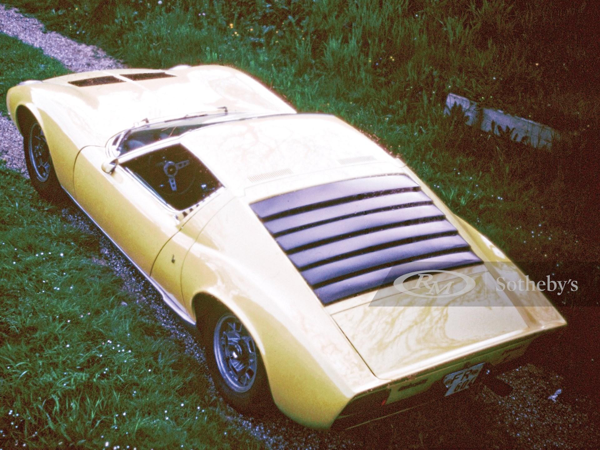 1969 Lamborghini Miura P400 S by Bertone