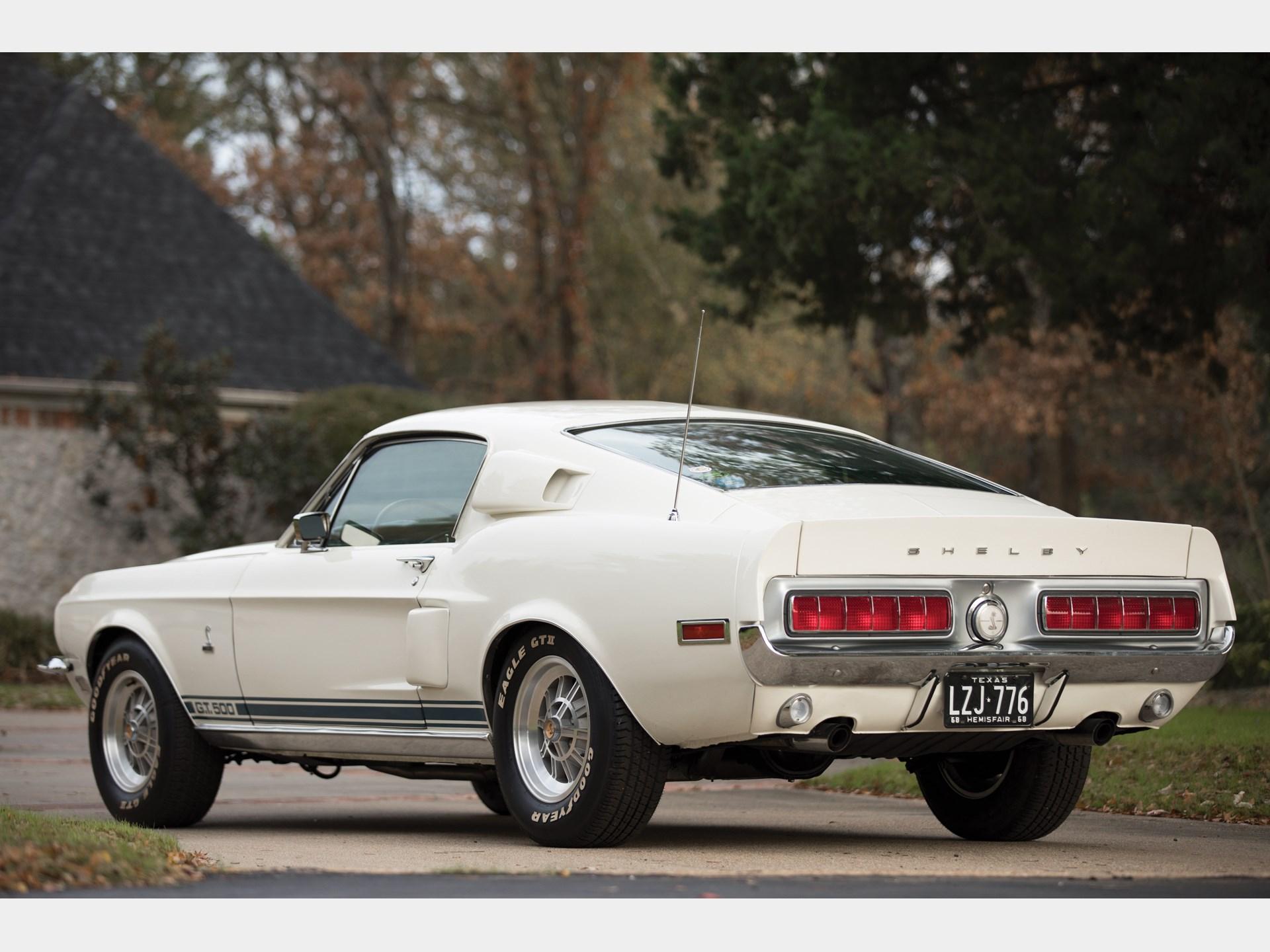 Rm sothebys 1968 shelby gt500 fastback arizona 2018