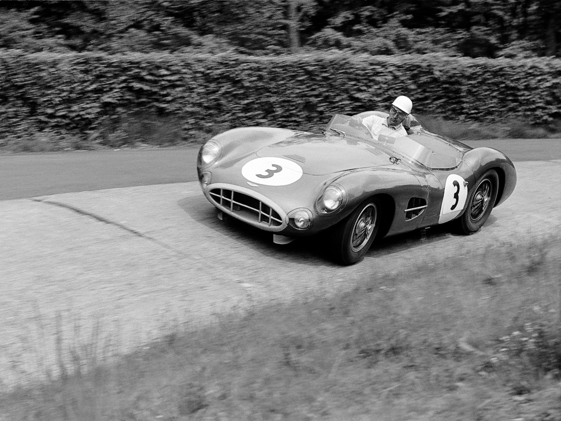 As seen at the 1958 1000km of the Nürburgring.