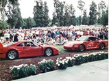 1991 Ferrari F40  - $The F40 faces off against its archrival 959 at the Hillsborough Concours d'Elegance, 1991.