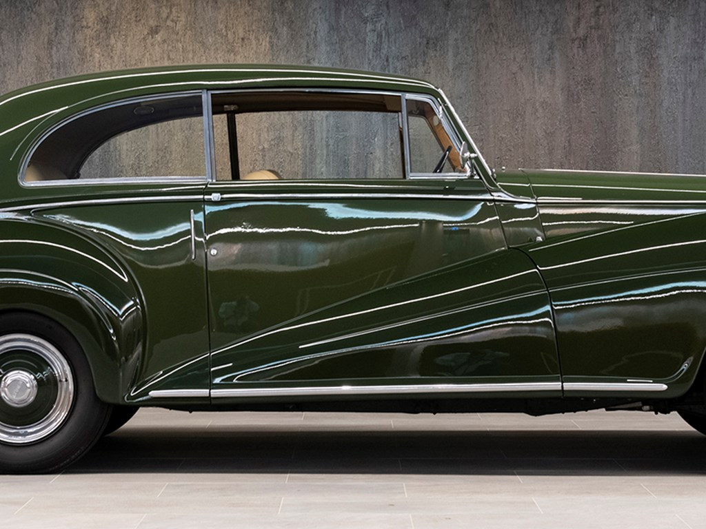 1952 Bentley Mark VI Saloon Coupé by James Young available at RM Sothebys A Passion For Elegance Live Auction 2021