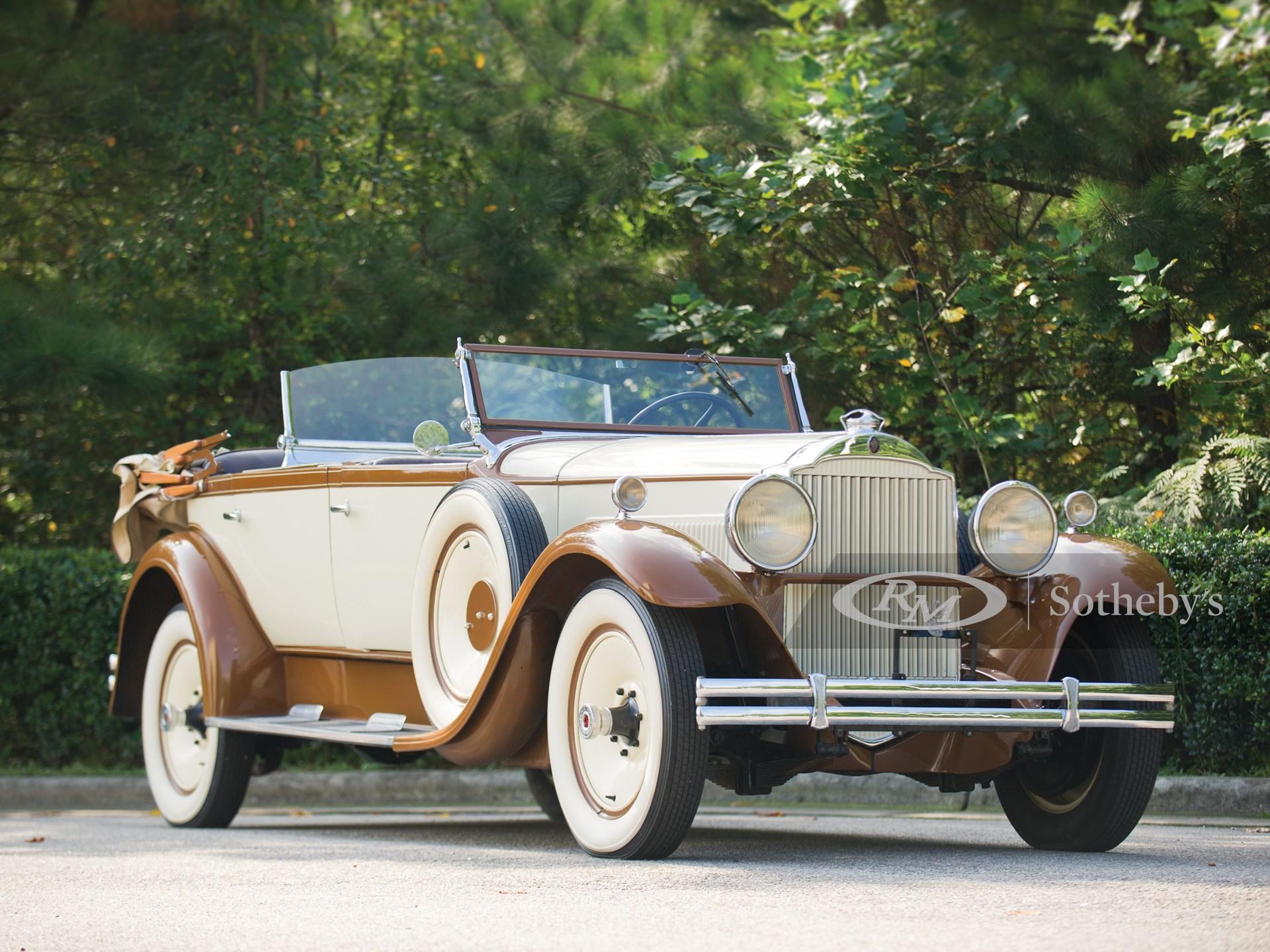 1930 Packard Eight Sport Phaeton
