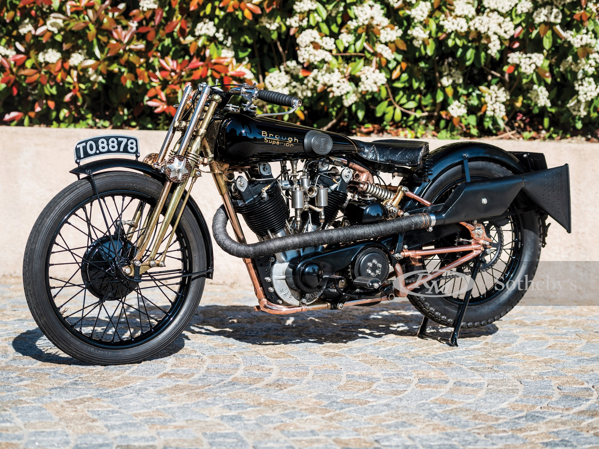 """1928 Brough Superior SS100 """"Moby Dick"""""""