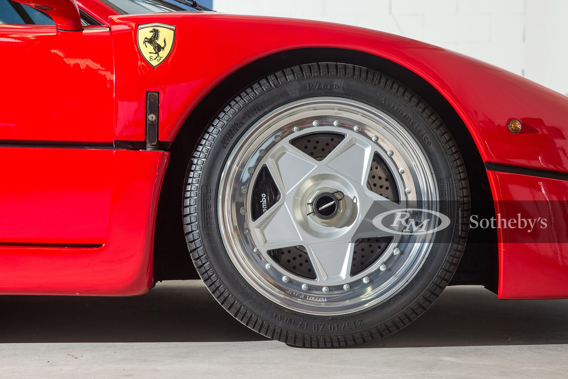 RM Sotheby's London 2020, Online Only, Blog, Ferrari F40, Gerhard Berger, Upcoming Auction