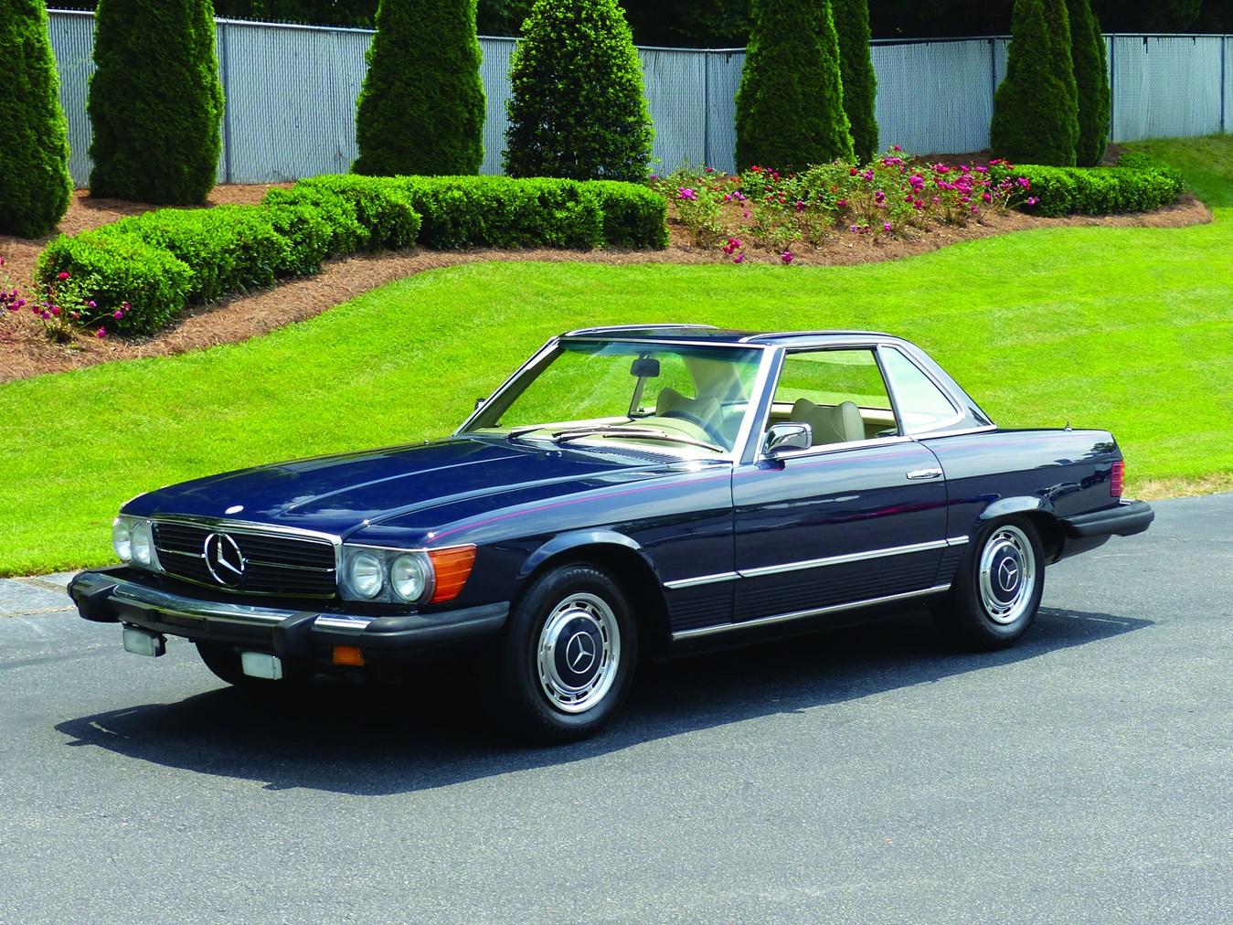 Rm sotheby 39 s 1975 mercedes benz 450sl hilton head 2016 for Mercedes benz of hilton head