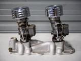 Edelbrock Intake Manifold with Dual Stromberg Carburetors - $