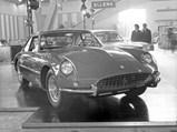 1962 Ferrari 400 Superamerica LWB Coupe Aerodinamico by Pininfarina - $Chassis no. 3949 SA at Turin October 31, 1962.