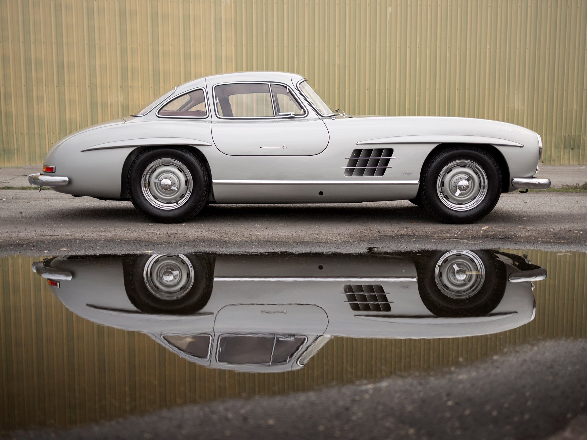 1955 Mercedes-Benz 300 SL Alloy Gullwing