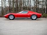 1971 Lamborghini Miura P400 SV by Bertone - $