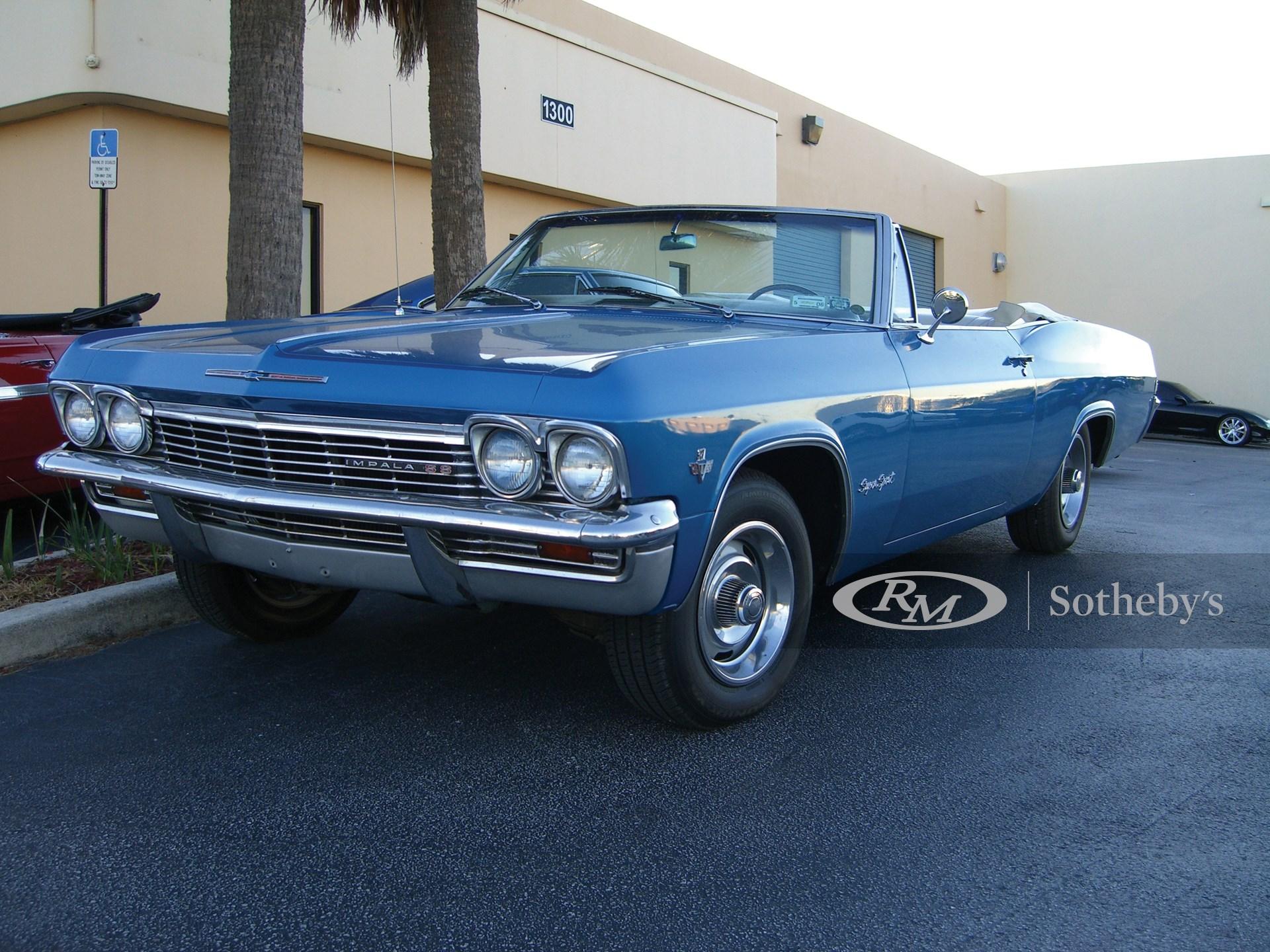 1965 Chevrolet Impala SS Convertible  -