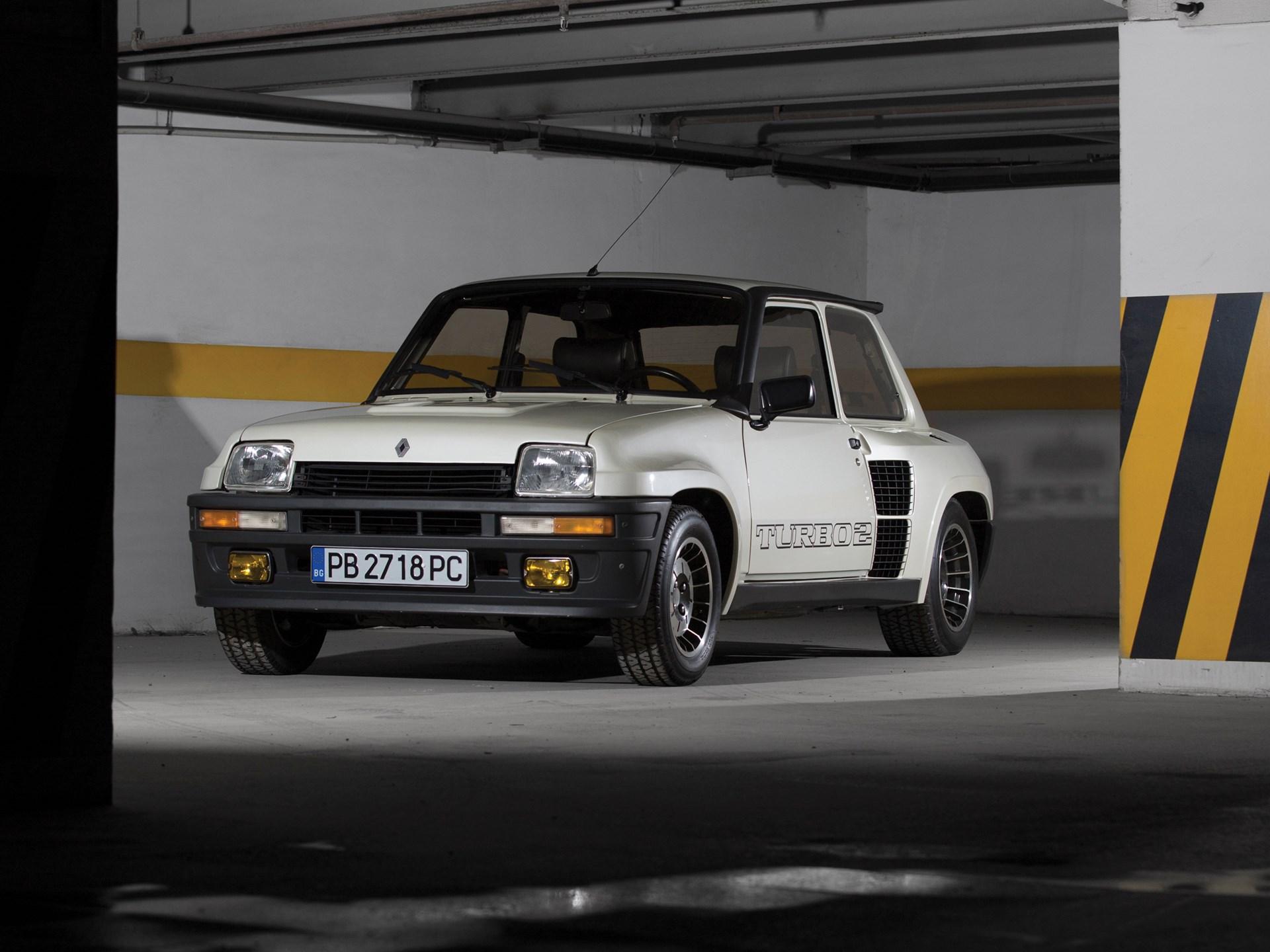 1983 Renault 5 Turbo 2