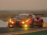 2016 Ferrari 488 GTE  - $Racing through the dusk at the 2017 24 Hours of Le Mans.