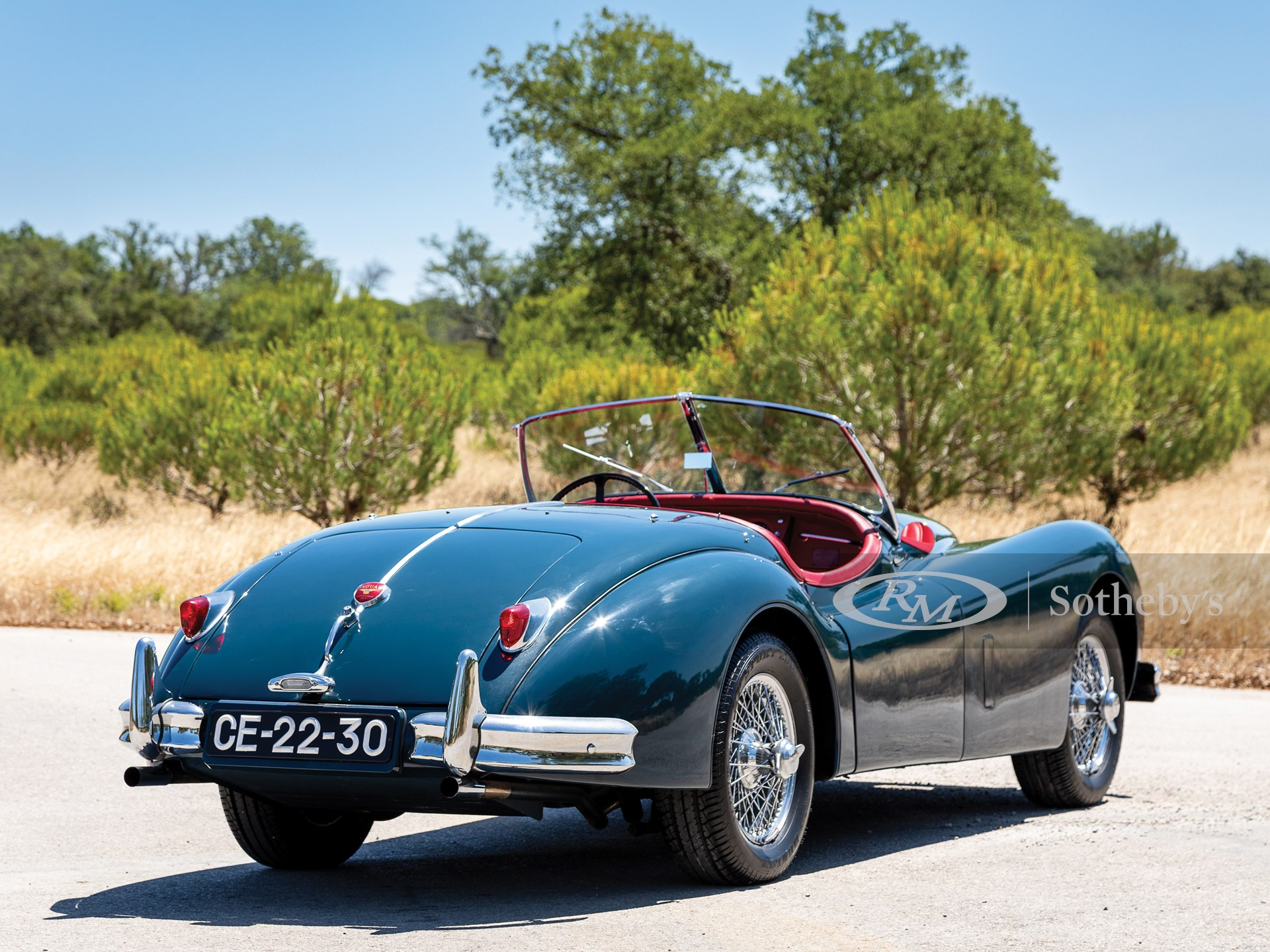 1955 Jaguar XK 140 SE Roadster  -